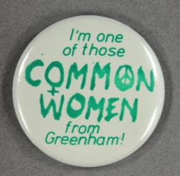 Greenham Common Badge
